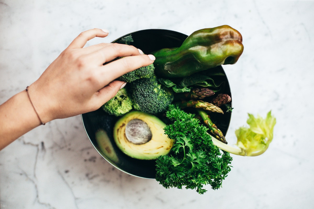 bowl of plant based foods