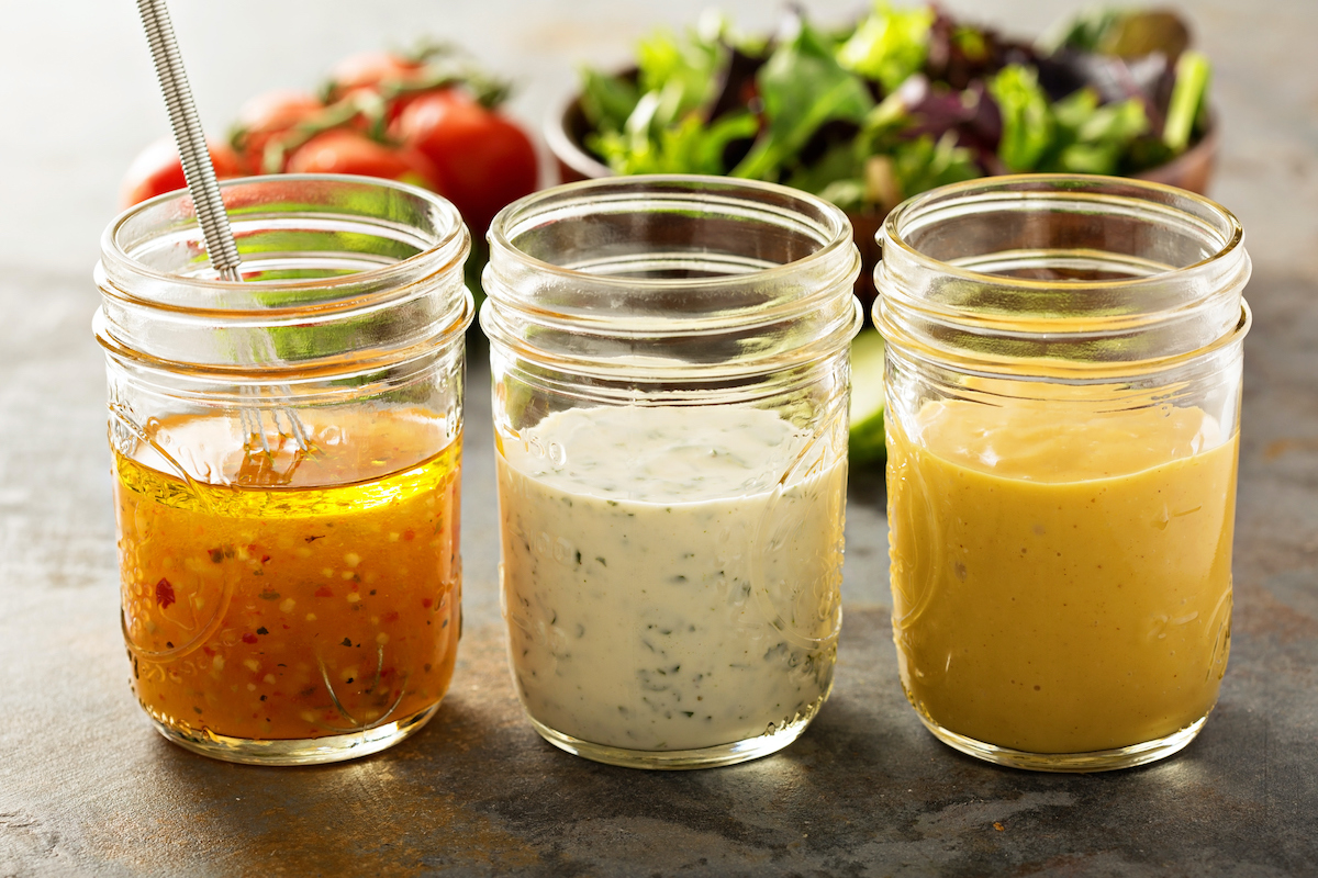 homemade plant-based salad dressing recipe