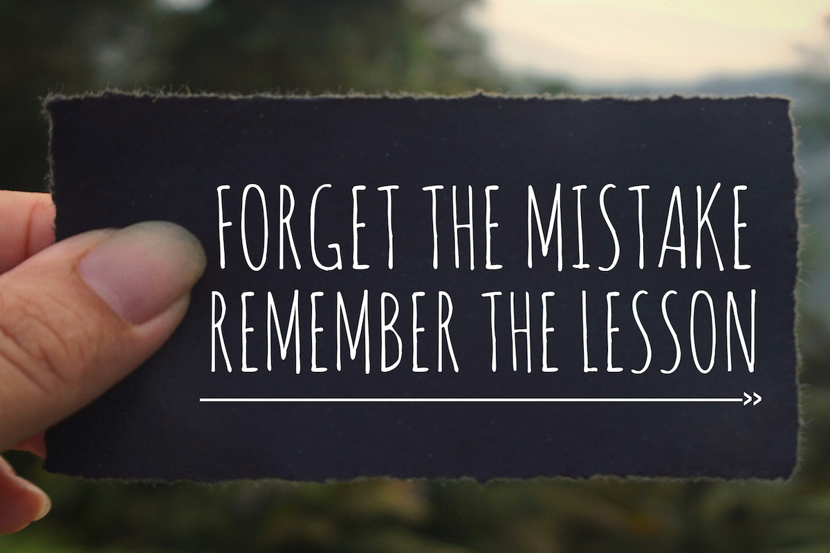 Why Its Ok to Make Mistakes