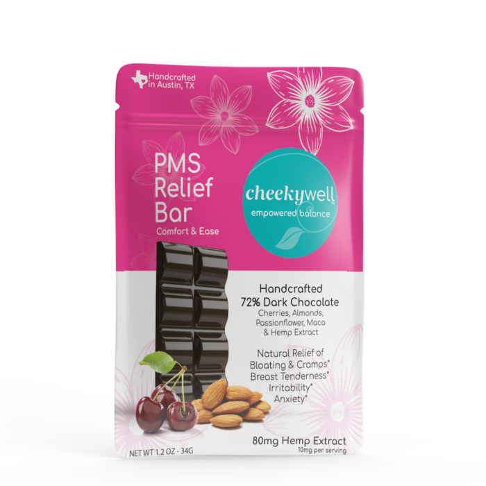 CheekyWell: PMS Relief Chocolate Bar